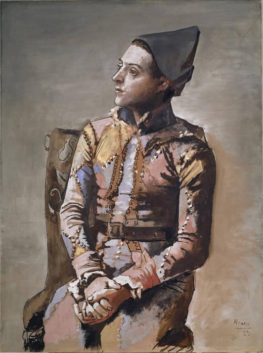Picasso - Arlequín sentado